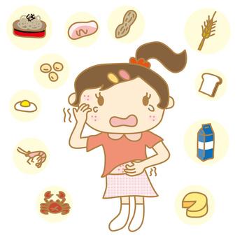 グルテンの食べ物と慢性疲労