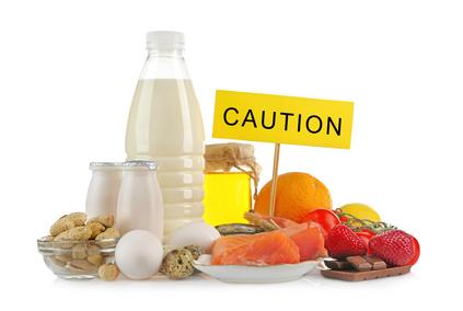 アレルギー反応の食べ物