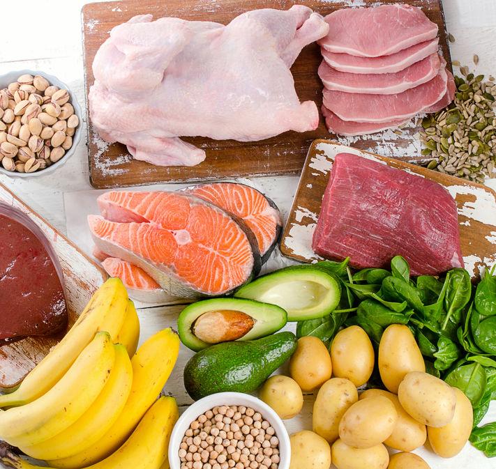 食べ物や食事に食品栄養素と健康予防