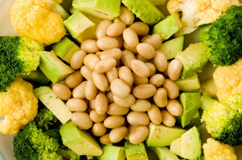 健康的な食べ物と食品栄養素